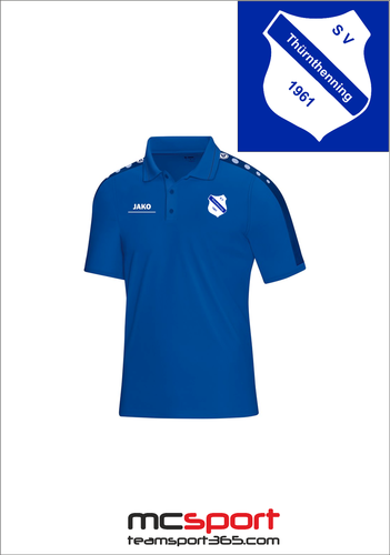 Jako Polo-Shirt Striker 6316 S - 4XL inkl. Vereinswappen