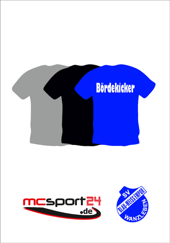 T-Shirt 3er Pack inkl. Bördekicker
