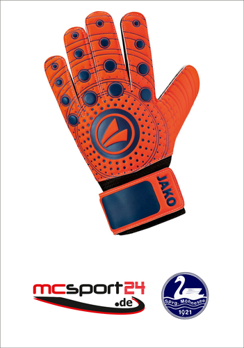 JAKO TW-Handschuhe Junior 3.0 flame-night blue 2518 SpVg Möhnesee